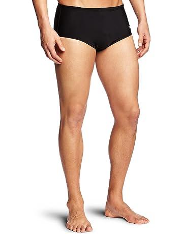 177c27123937 Speedo Men s Xtra Life Lycra Solid 5 Inch Brief Swimsuit