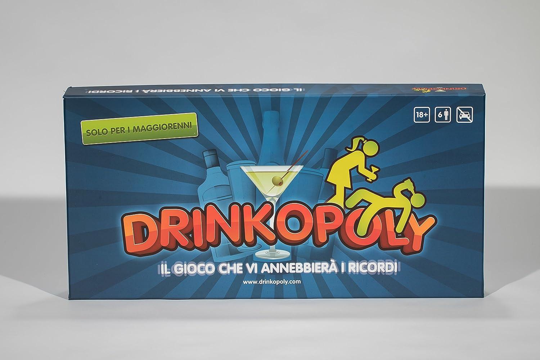 DAL TENDA - DRINKOPOLY - ITALIANO ITALIAN VERSION