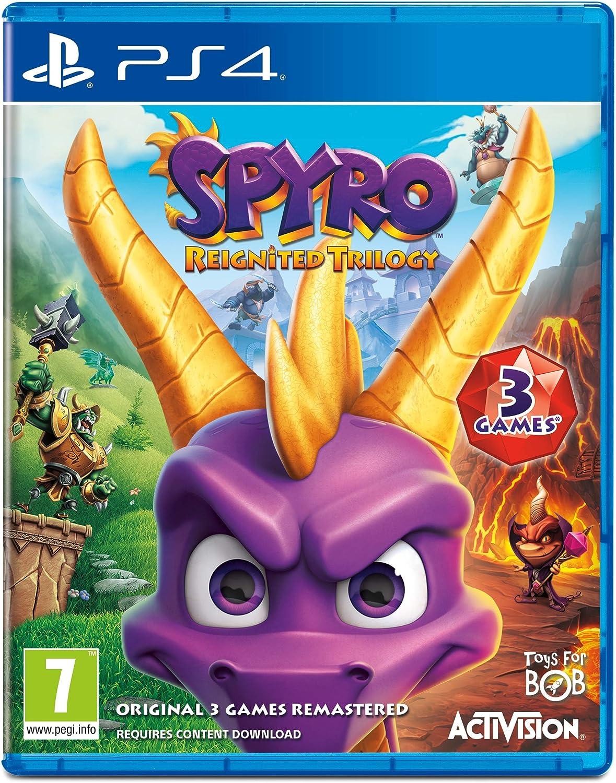 Spyro Trilogy Reignited - PlayStation 4 [Importación inglesa ...