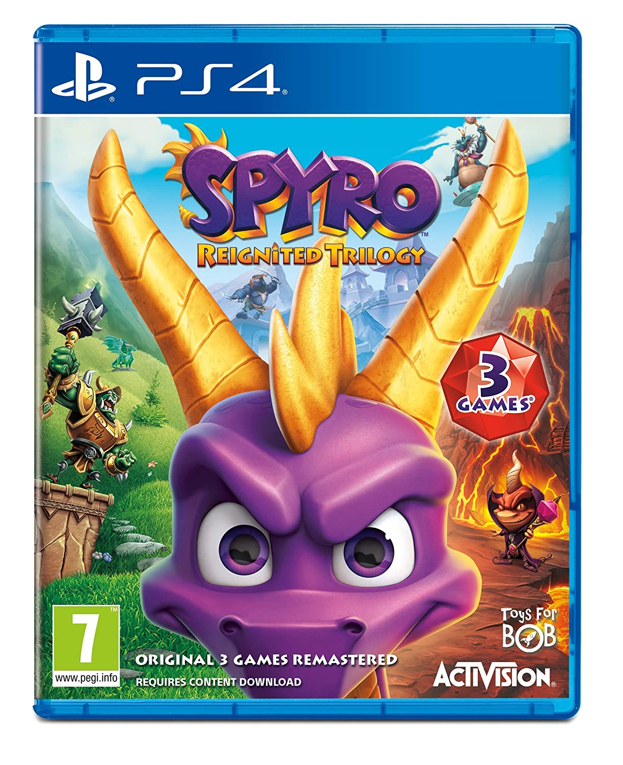 Spyro Trilogy Reignited (PS4): Amazon co uk: PC & Video Games