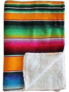 Amazon.com: Del Mex baja bebé mexicano bebé manta Paired con ...