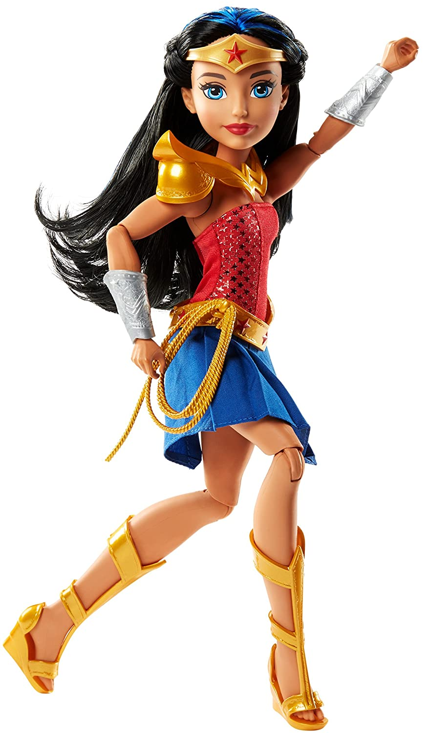 DC Super Hero Girls Wonder Woman of THEMYSCIRA 12-inch Deluxe Doll
