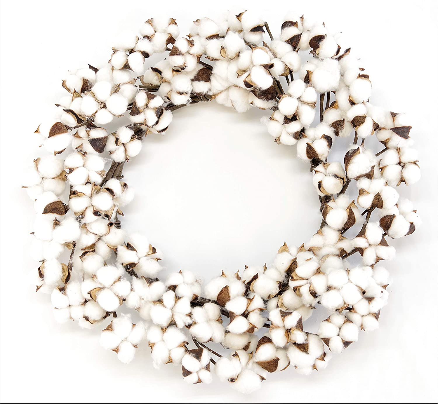 Real Cotton Wreath - 18