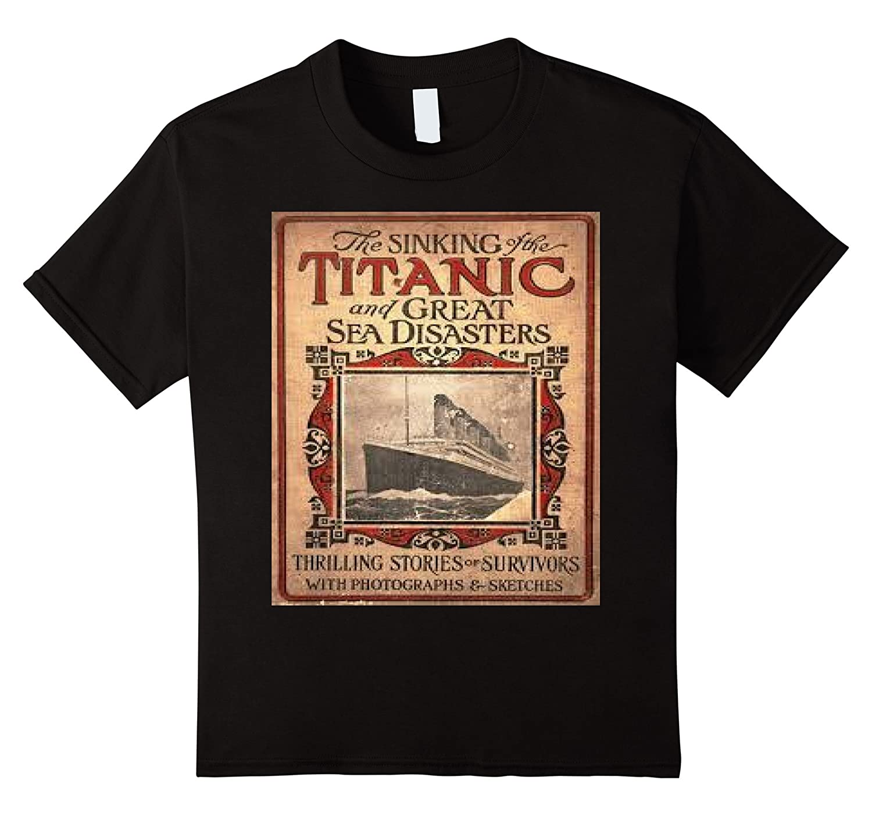 Titanic disaster authentic history shirt-Teechatpro