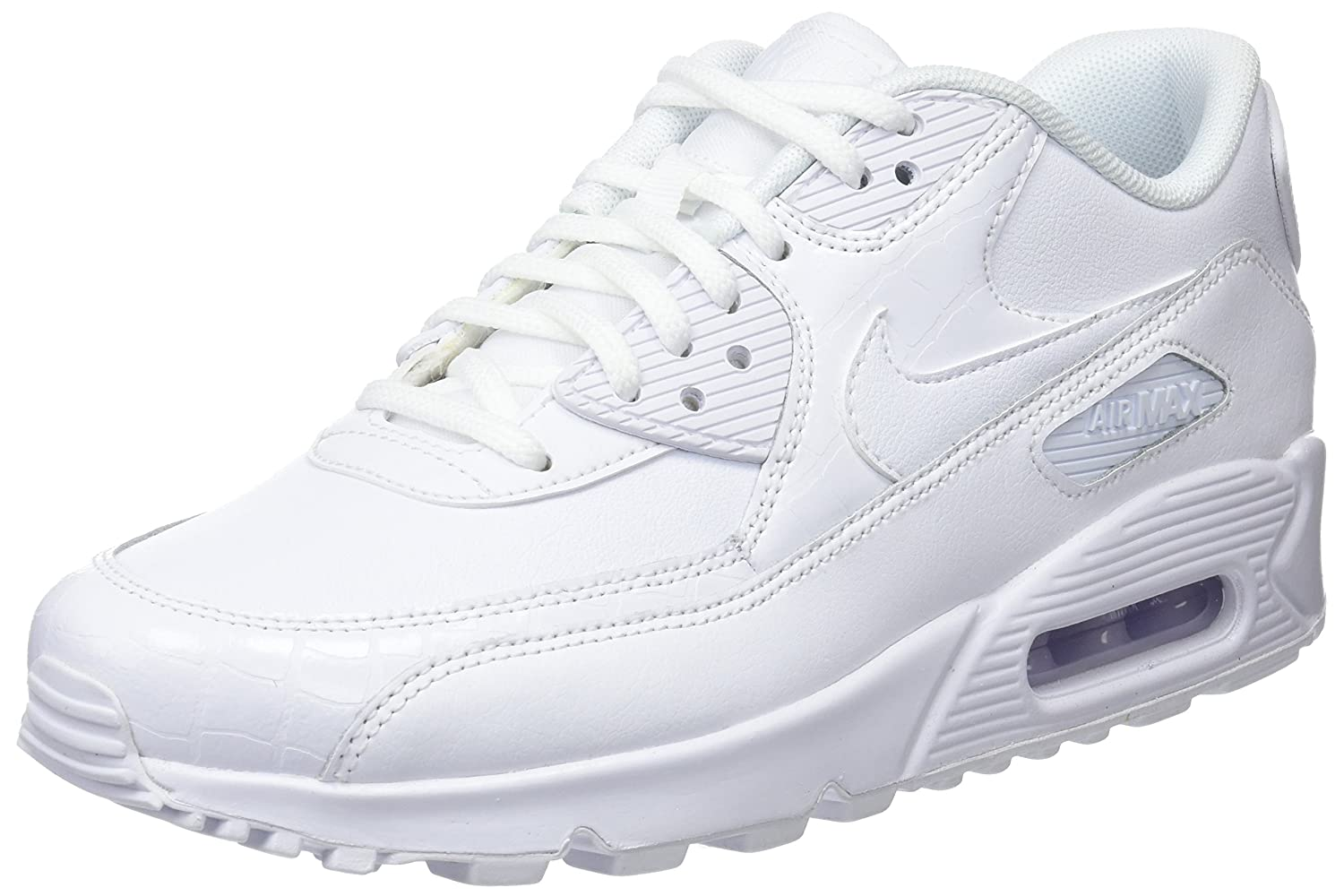 9f3106ef51439 Nike Women's Air Max 90 Sneaker, White 133, 7 UK: Amazon.com