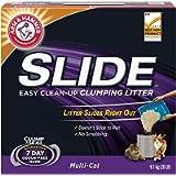 ARM & HAMMER Clump & Seal SLIDE Cat Litter, Multi-Cat, 9.1-kg
