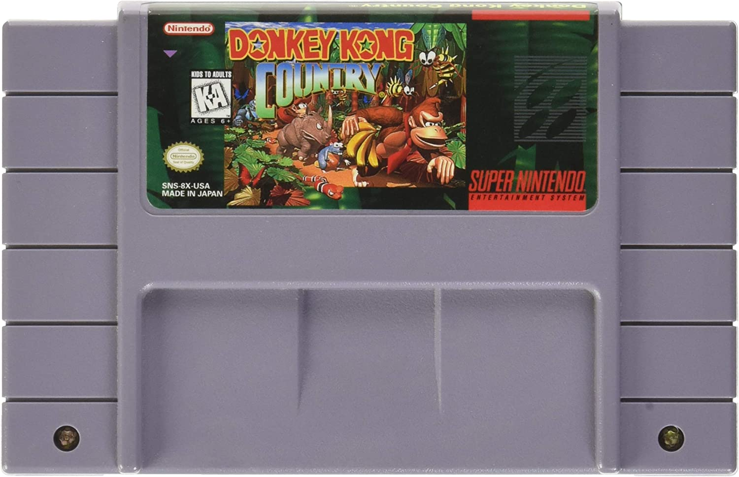 Amazon.com: Donkey Kong Country: Super Nintendo: Nintendo ...