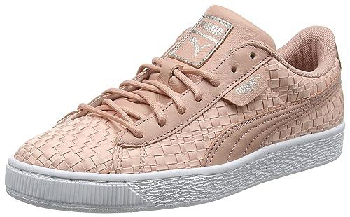 PUMA Damen Basket Satin En Pointe Sneaker
