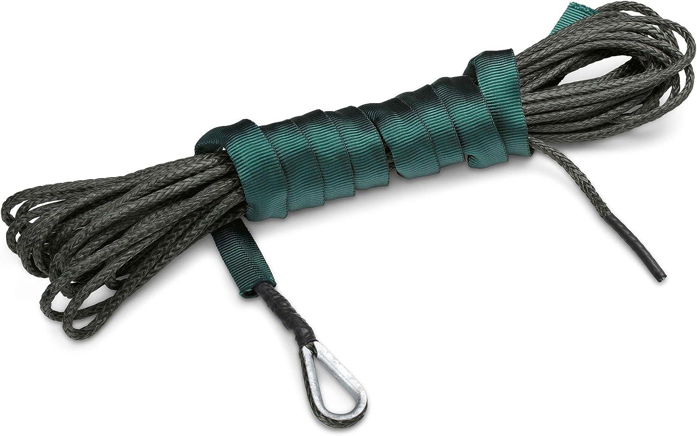 MotoAlliance 50 ft AmSteel-Blue ATV//UTV USA made Synthetic Rope /& Hawse-GREEN