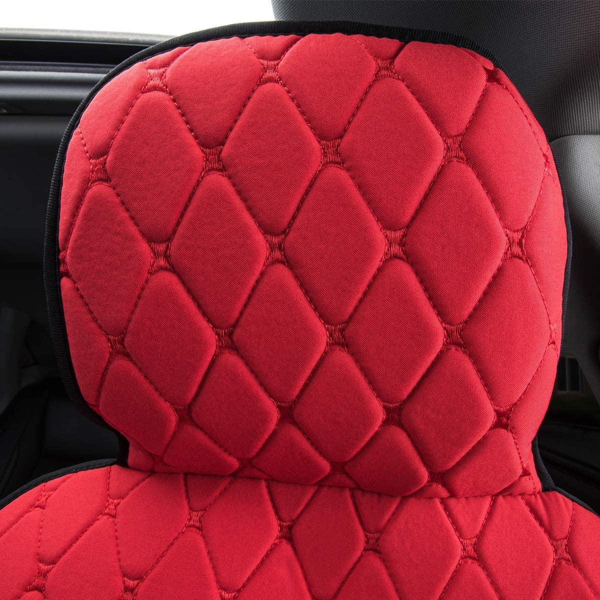NEW ARRIVAL One Set Package, Black With Purple color CAR PASS HOMEIN Two Tone Sideless Universal fit car seat covers