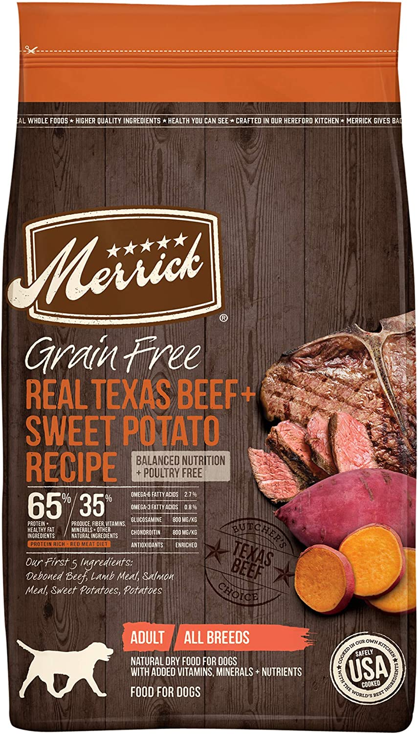 Merrick Grain-Free Real Buffalo