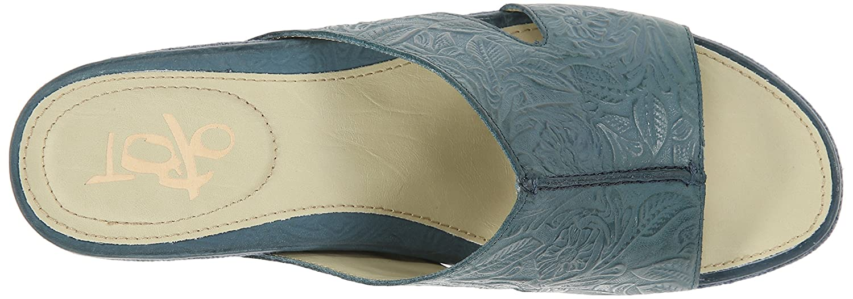 OTBT Women's Hannibal Wedge Sandal B005B0LUMQ 6.5 B(M) US|Dany Blue