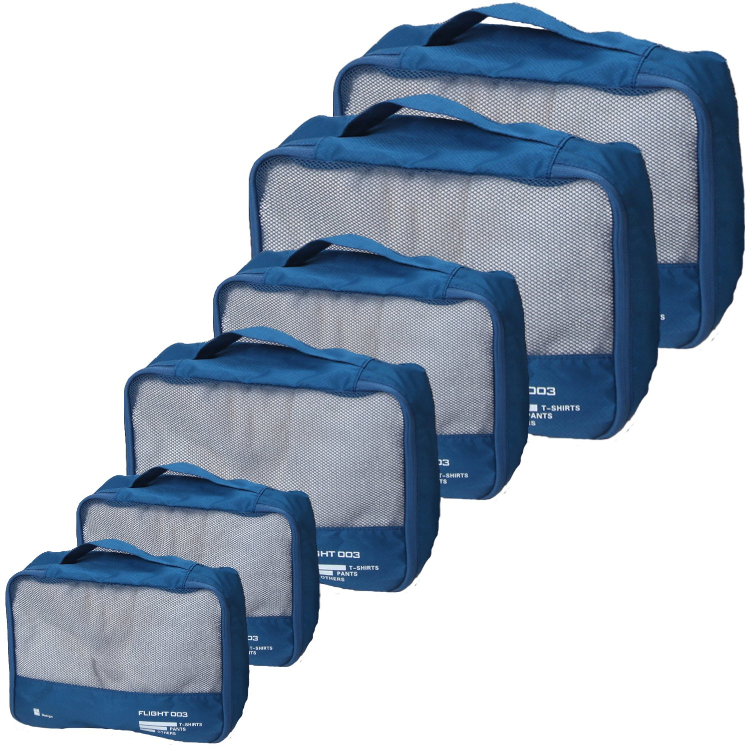 Best Packing Cubes Set Travel Luggage Organizers Suitcase Lightweight Accessories by vallilan