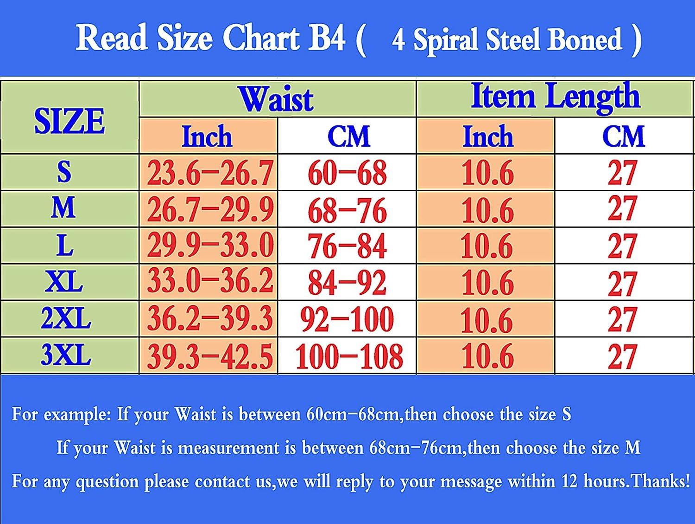 Waist Trainer for Weight Loss,Underbust Waist Cincher Korsett Body Shaper