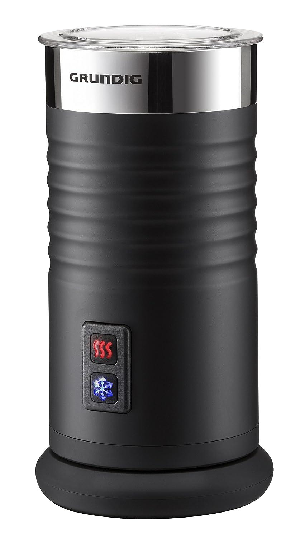 Grundig MF Batidora espumadora de leche automática W color negro y plateado