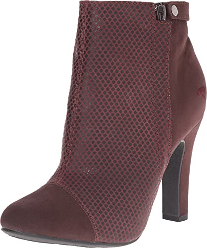 Womens Boots Rocket Dog Jolita Burgundy Rattle