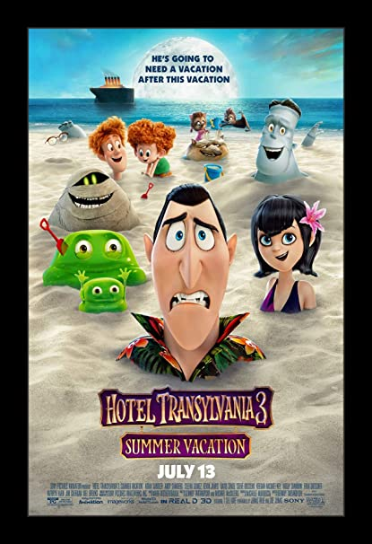 Image result for hotel transylvania 3 movie poster