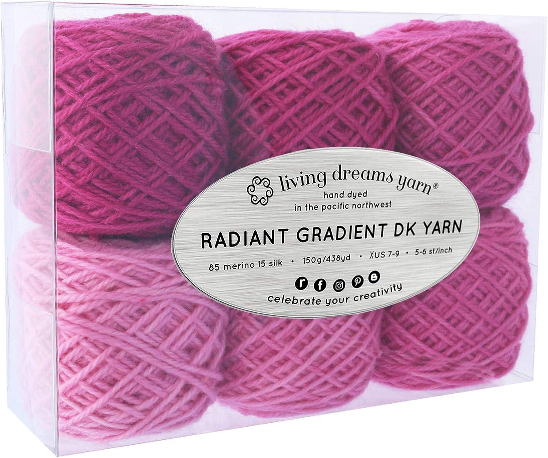Indie dyed Hand dyed gradient yarn gradient sock yarn