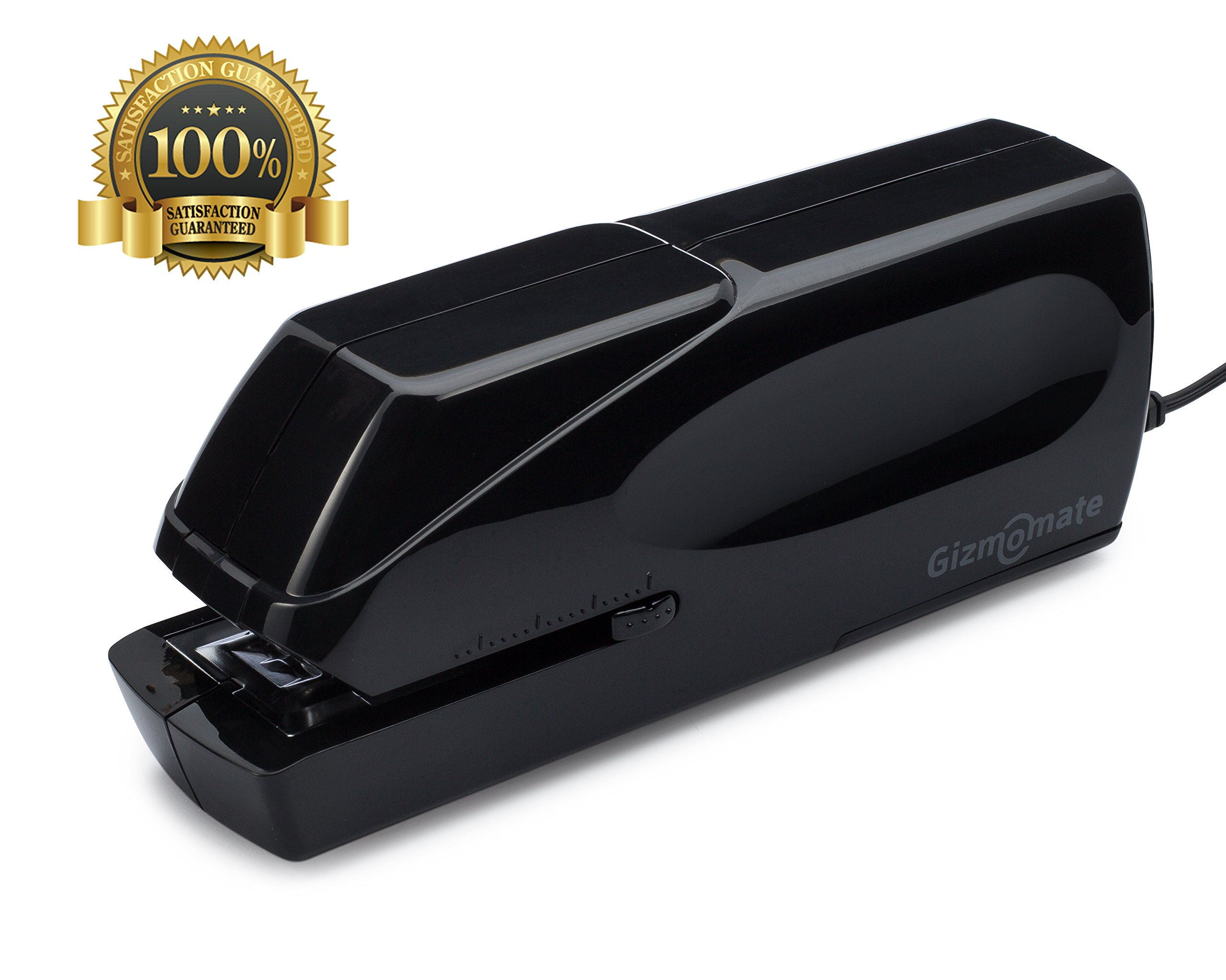GM-X Automatic Electric Stapler, Heavy Duty Jam-Free 25 Sheet Full-Strip Capacity ✮ Free Staples & AC Cable with Extended Warranty ✮ Professional and Home Office Stapler