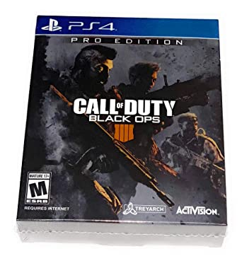Call Of Duty Black Ops 4 Pro Edition Playstation 4 Video Games