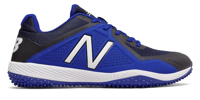 (ニューバランス) New Balance 靴シューズ メンズ野球 Turf 4040v4 Black with Blue ブラック ブルー US 7.5 (25.5cm) B073YMKT5K