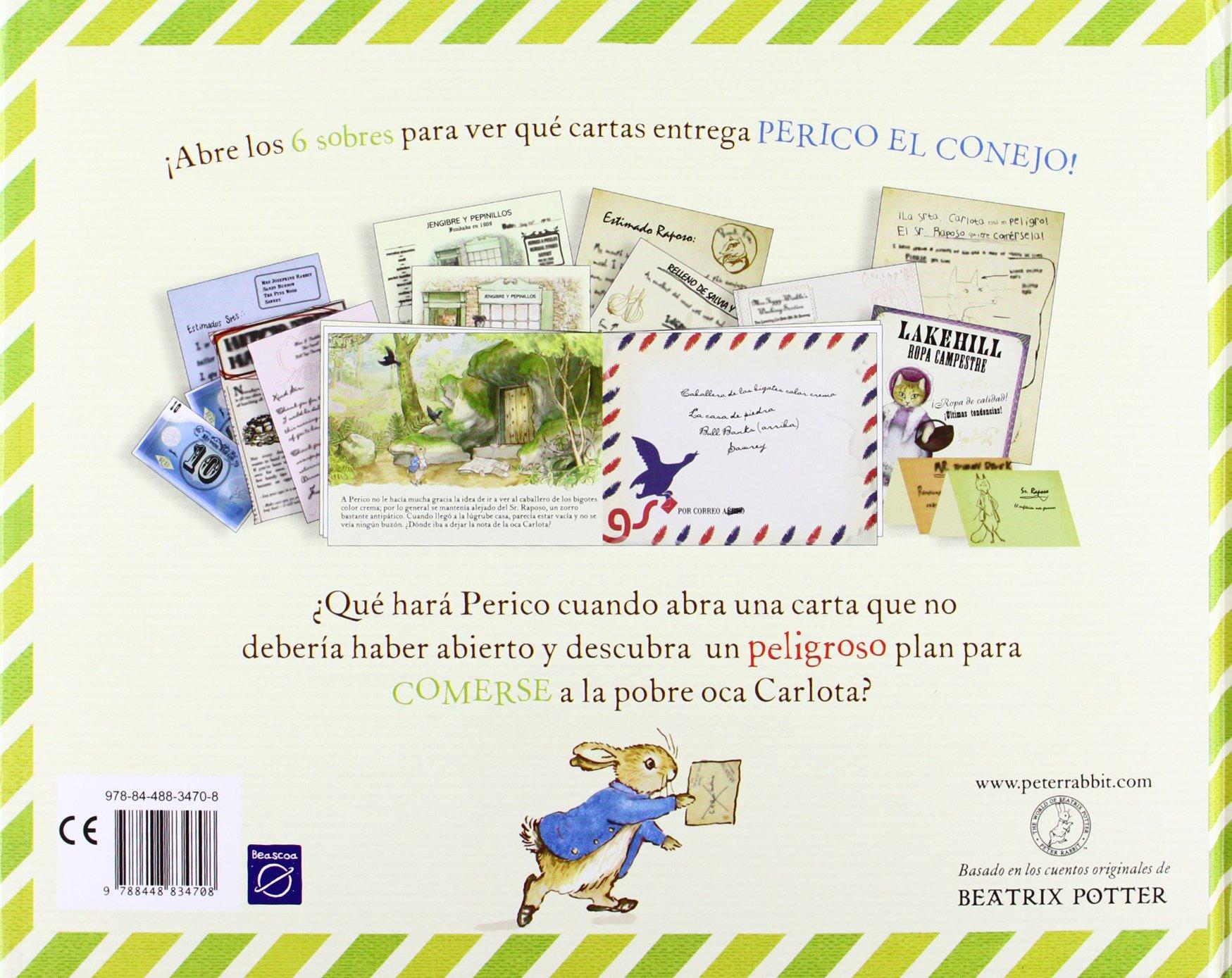 Perico el cartero: Beatrix Potter: 9788448834708: Amazon.com ...