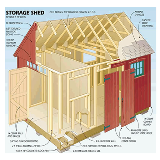 12,000 shed plans Shed Plans