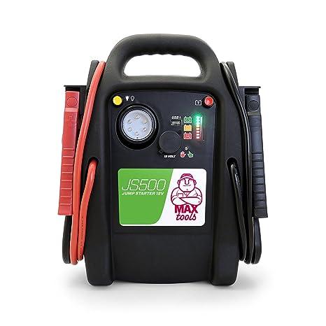 MAXTOOLS JS500 Arrancador de coche (12 V, máx.