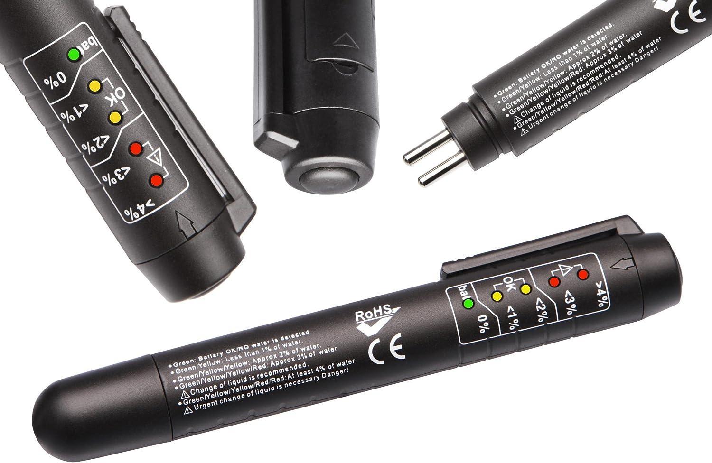 Herkules Werkzeuge Druckluft Bremsenentl/üftungsger/ät Adaptersatz Bremsfl/üssigkeitstester