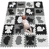 YIMINYUER Stylish Baby Play Mat for Crawling, Playing & Yoga – EN-71 Certified, Odourless, Formamide-Free – 20 Foam…