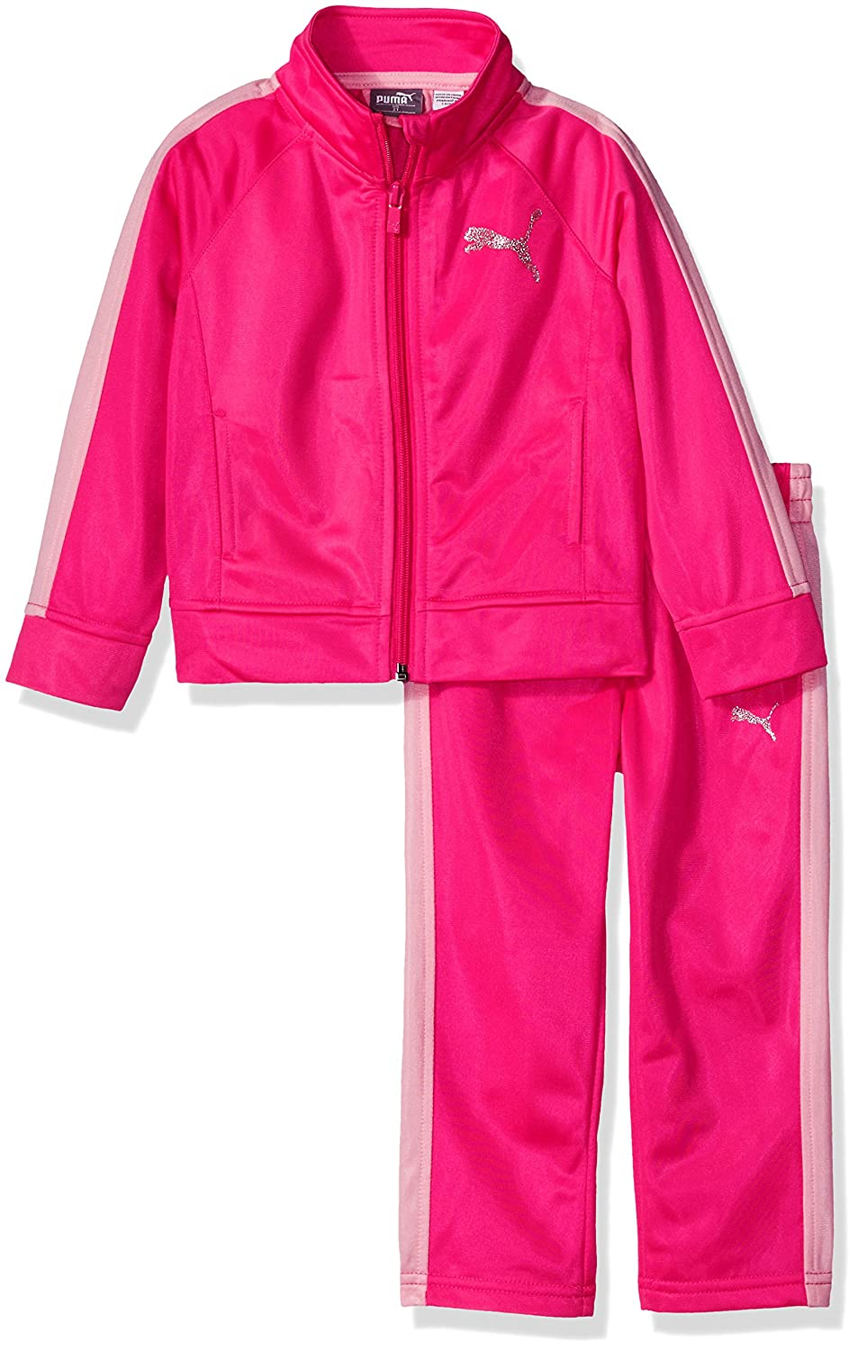 PUMA Little Girls' Track Jacket and Legging Set