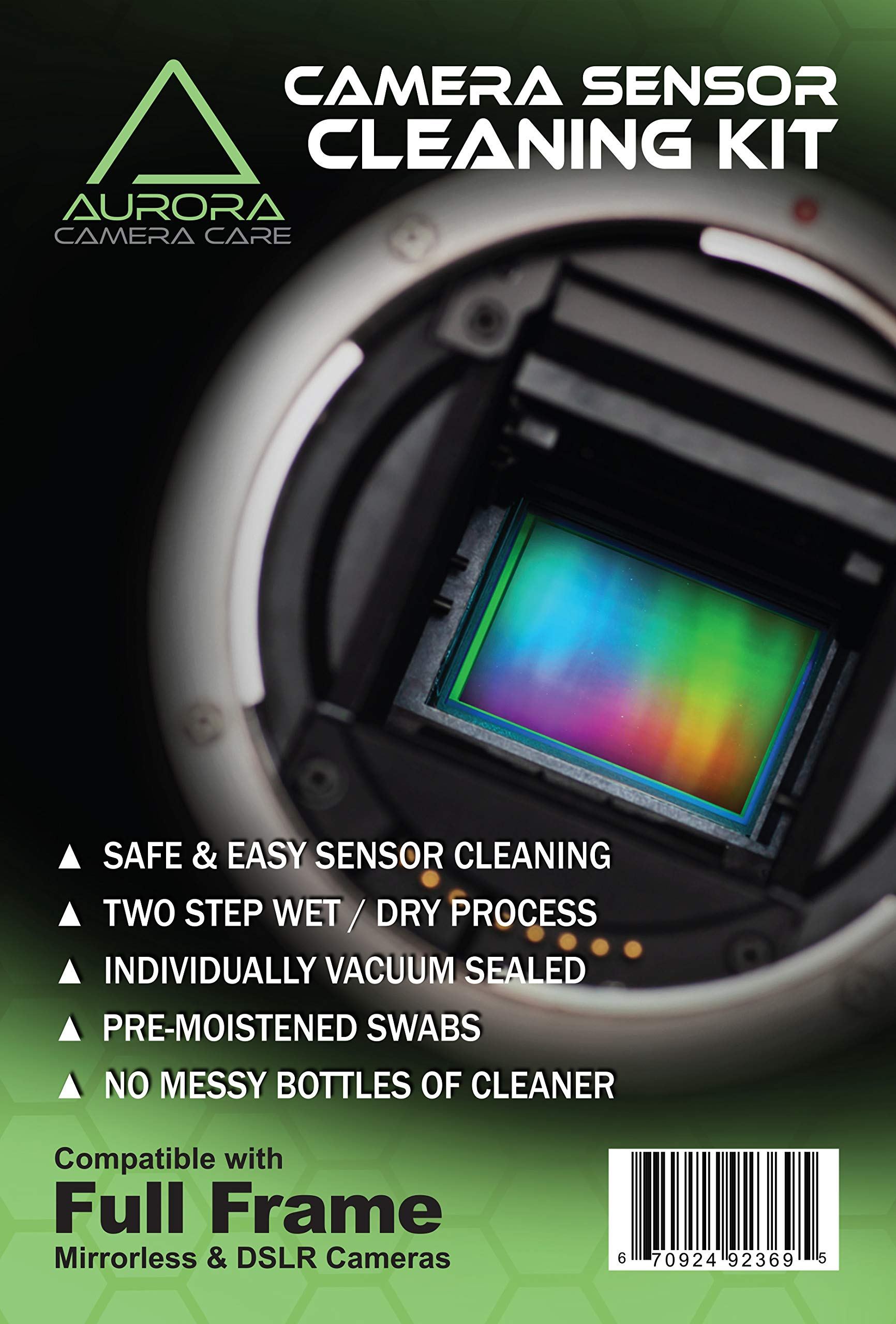 Aurora Camera Care Camera Sensor Cleaning Kits (Full Frame)