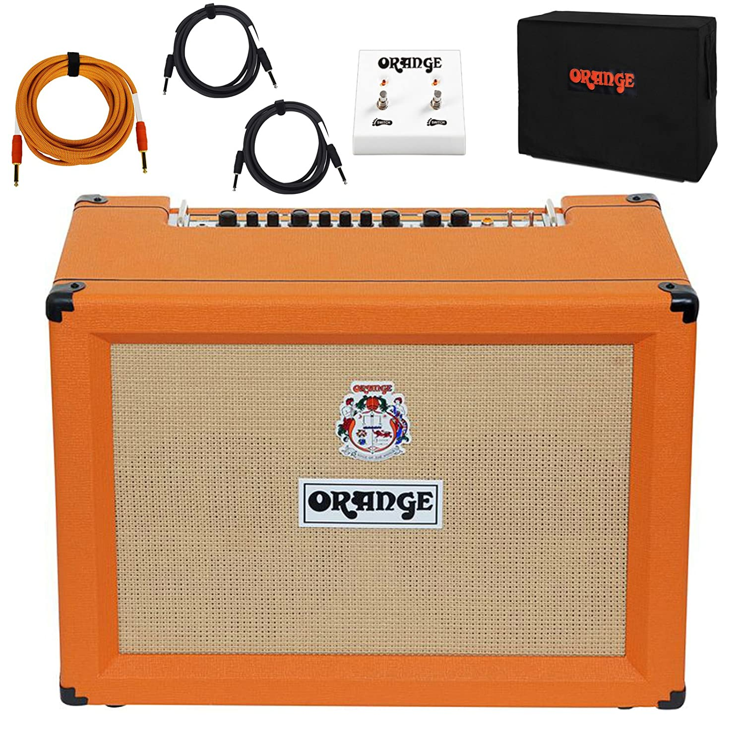 Orange Crush Pro CR120C 2x12 Combo Amp Guitar Amplifier 120 Watts with Bundle