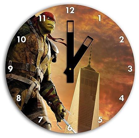 Raphael adolescente imagen mutante tortuga Ninja en el reloj ...