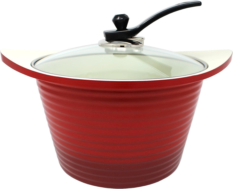 CONCORD 5 QT Ceramic Non Stick Dutch Oven Cookware