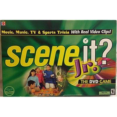 Mattel Scene it Jr. DVD Game: Toys & Games