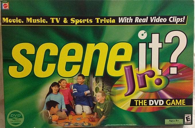 Scene it Jr. DVD Game by Mattel: Amazon.es: Juguetes y juegos