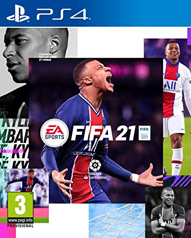 Todo para el streamer: FIFA 21 Standard Edition - PS4