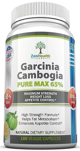 Amazon.com: Garcinia Cambogia Extracto Puro Max Super Strong ...