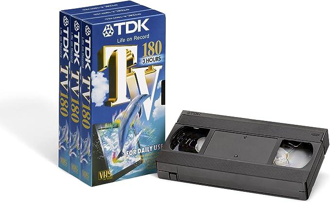 TDK TV 180 - Cinta VHS: Amazon.es: Electrónica