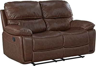Standard Furniture 4169431 Colson Loveseat with Manual Motion