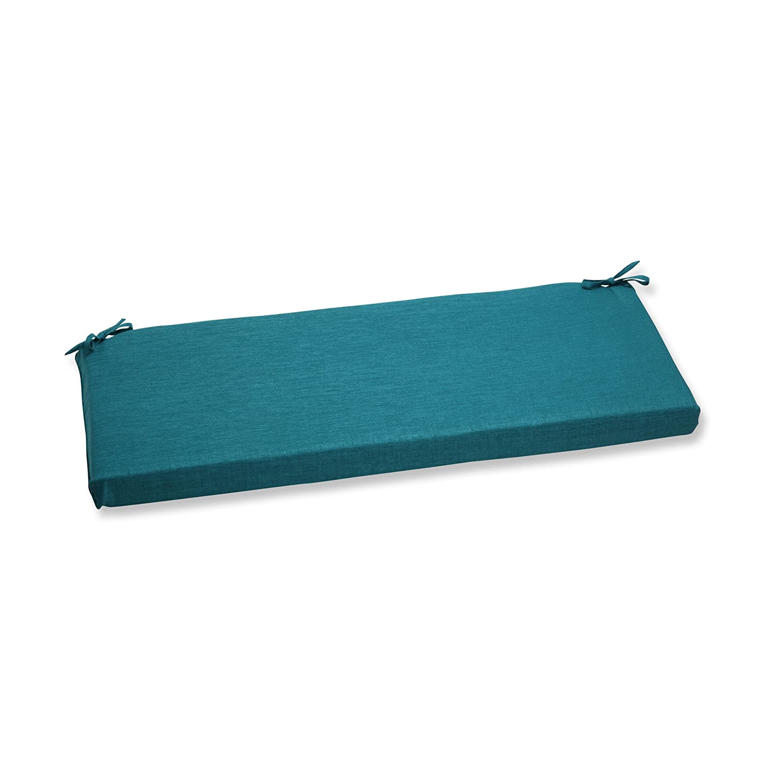 Pillow Perfect Outdoor Rave Teal Bench Cushion