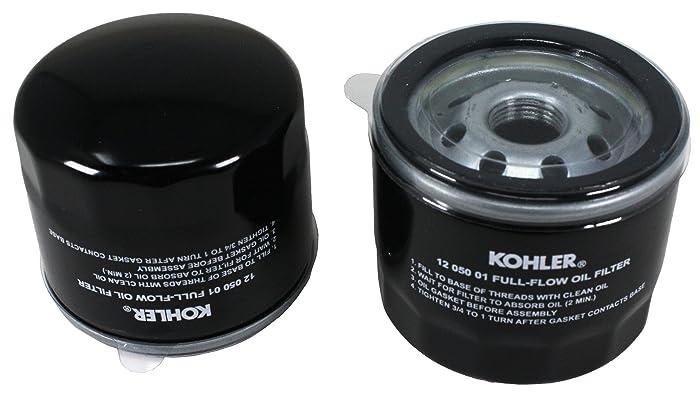 Set of 2 KOHLER 12 050 01-S Engine Oil Filter