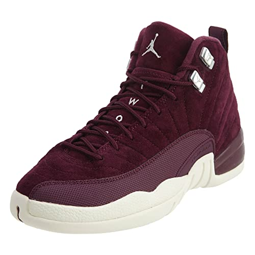 3e7f7729e9916 AIR Jordan 12 Retro BG (GS)  Bordeaux  - 153265-617  Amazon.co.uk ...