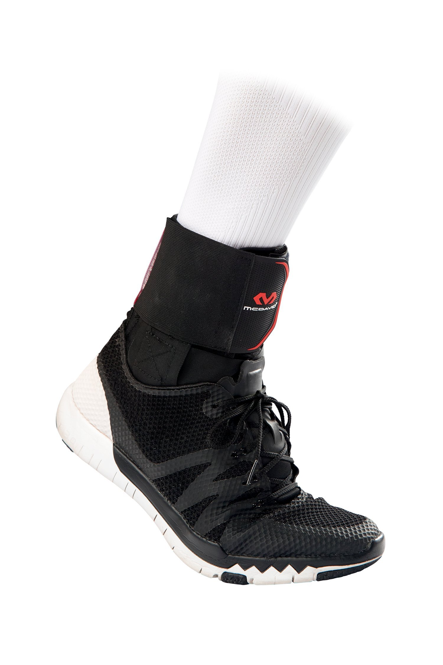 McDavid Level 3 Ankle Brace with Straps, Gray, X-Small by McDavid (Image #5)