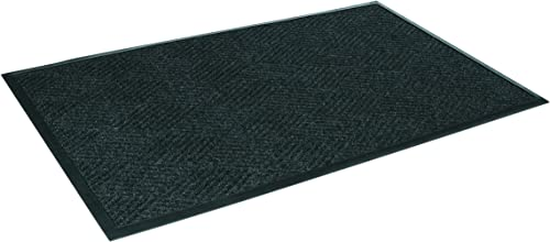 Crown Super-Soaker Diamond Mat, Polypropylene, 45 x 70, Charcoal
