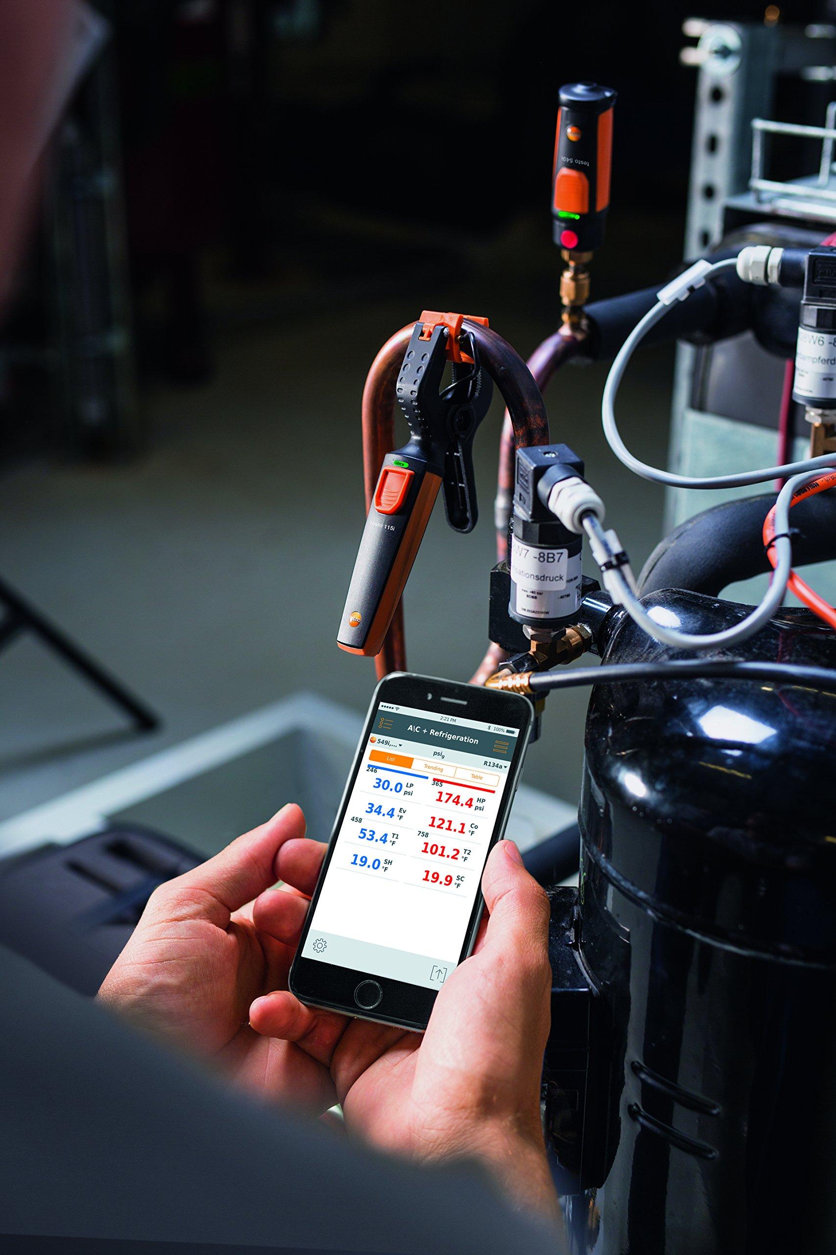 Testo 0563 0002 Refrigeration Wireless Smart Probe Set by Testo (Image #8)