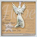 Godmother Gift - Always an Angel By Your Side Charm Ornament