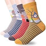 Dani's Choice Casual Cotton Print Socks