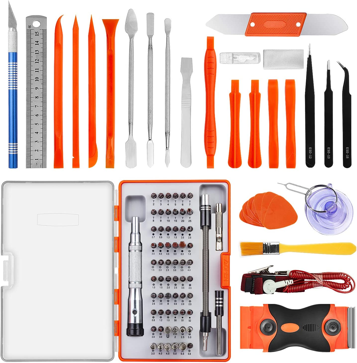 Xligo JM-8112 39 in1 Multifunctional Precision Screwdriver Set For Phone Laptop Digital Repair Screwdriver Bits Repair Tools Kit Set